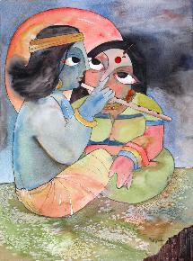 Khrisna Enfant = Gopala le joueur de flûte!
