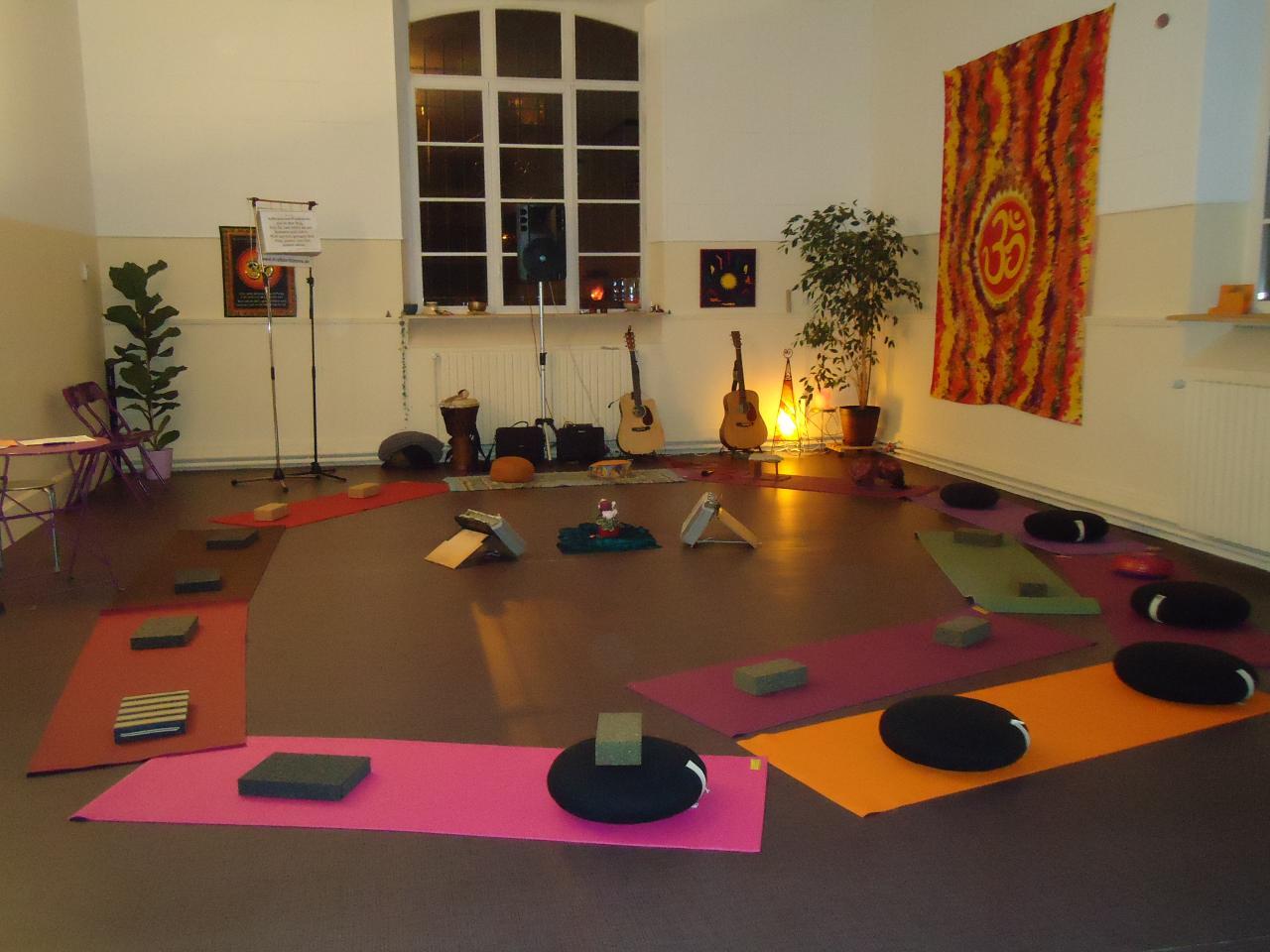 Un lieu idéal réservé au Yoga!