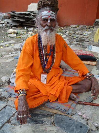 An old Yogi master