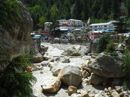 Vue de Gangotri